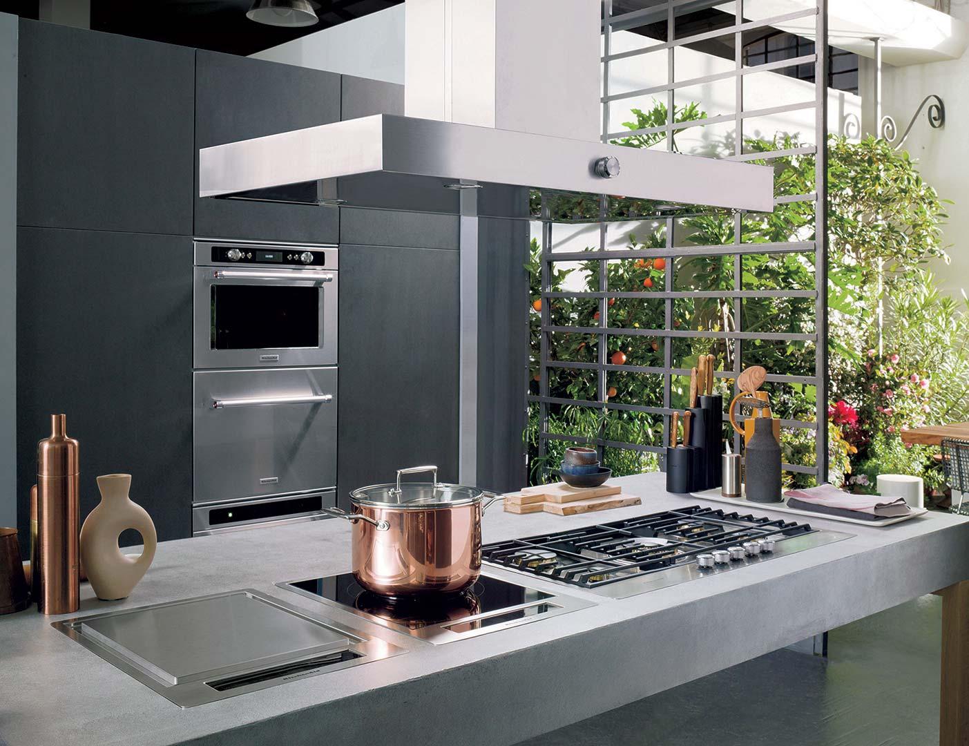 Cappa downdraft 90 cm kebds 90020 sito ufficiale kitchenaid - Sostituire cappa cucina ...