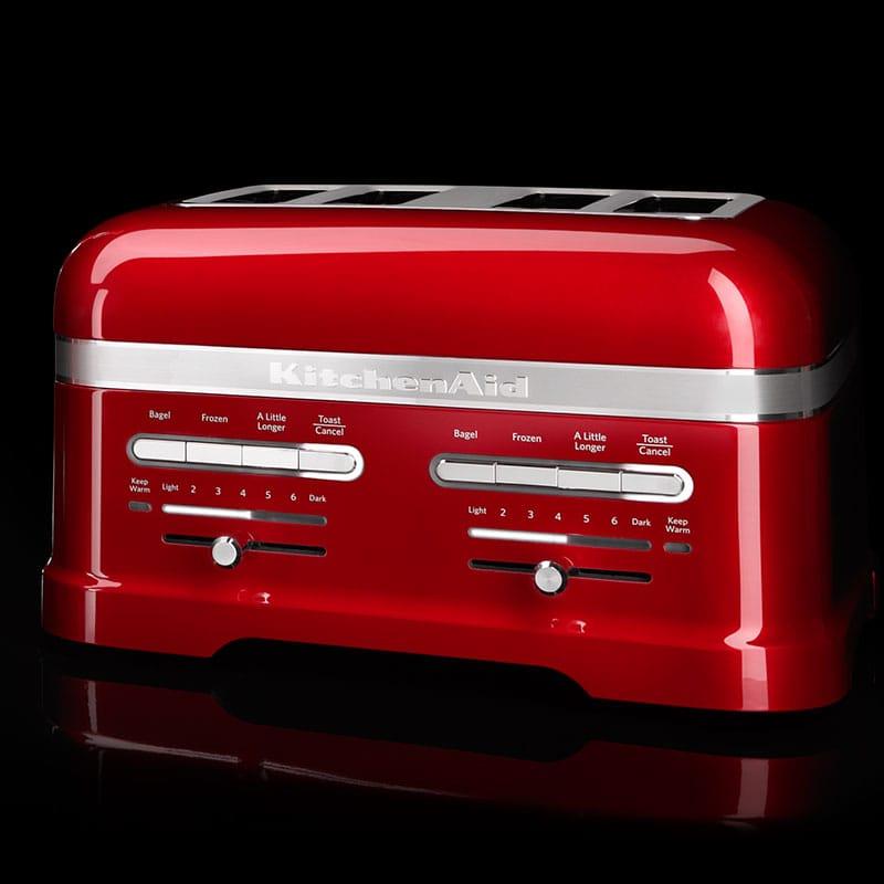 kitchenaid artisan toaster f r 4 scheiben 5kmt4205 offizielle website von kitchenaid. Black Bedroom Furniture Sets. Home Design Ideas