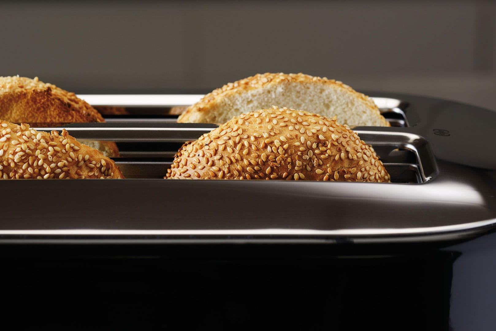 Tostapane con scomparto lungo a controllo manuale 5kmt4116 for Pane con kitchenaid