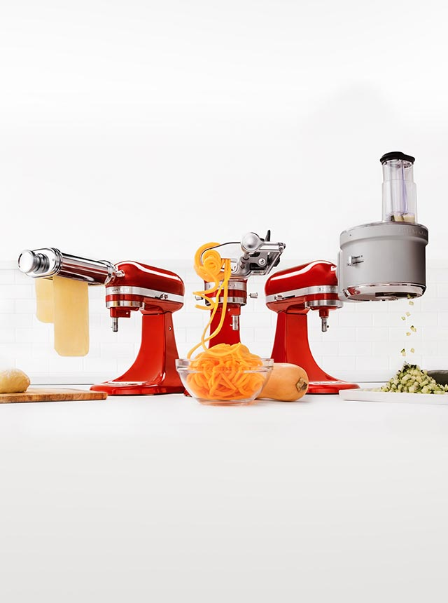 STAND MIXER ALL ATTACHMENTS