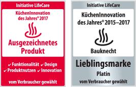 Bauknecht Dampfgarer: Farbe Edelstahl   ECSK9 9845 PT