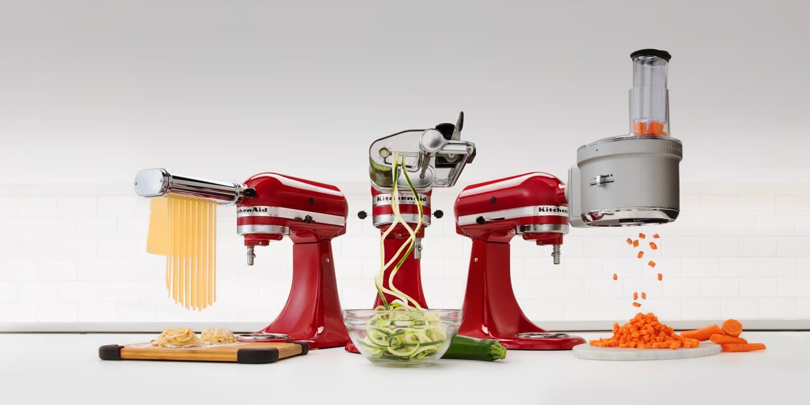 5739358e820701 Robot pâtissier multifonction ARTISAN Blanc Givré de 4,8 L 5KSM156 ...