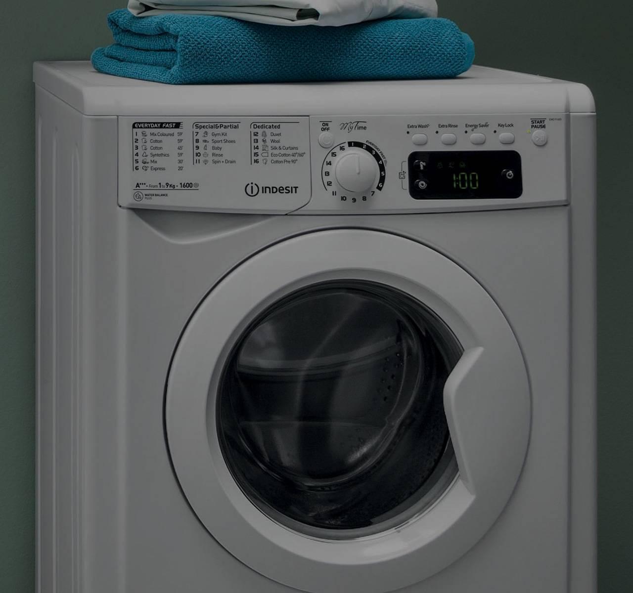 Waschmaschine, Indesit, »BWE 81683X WKKK CH«