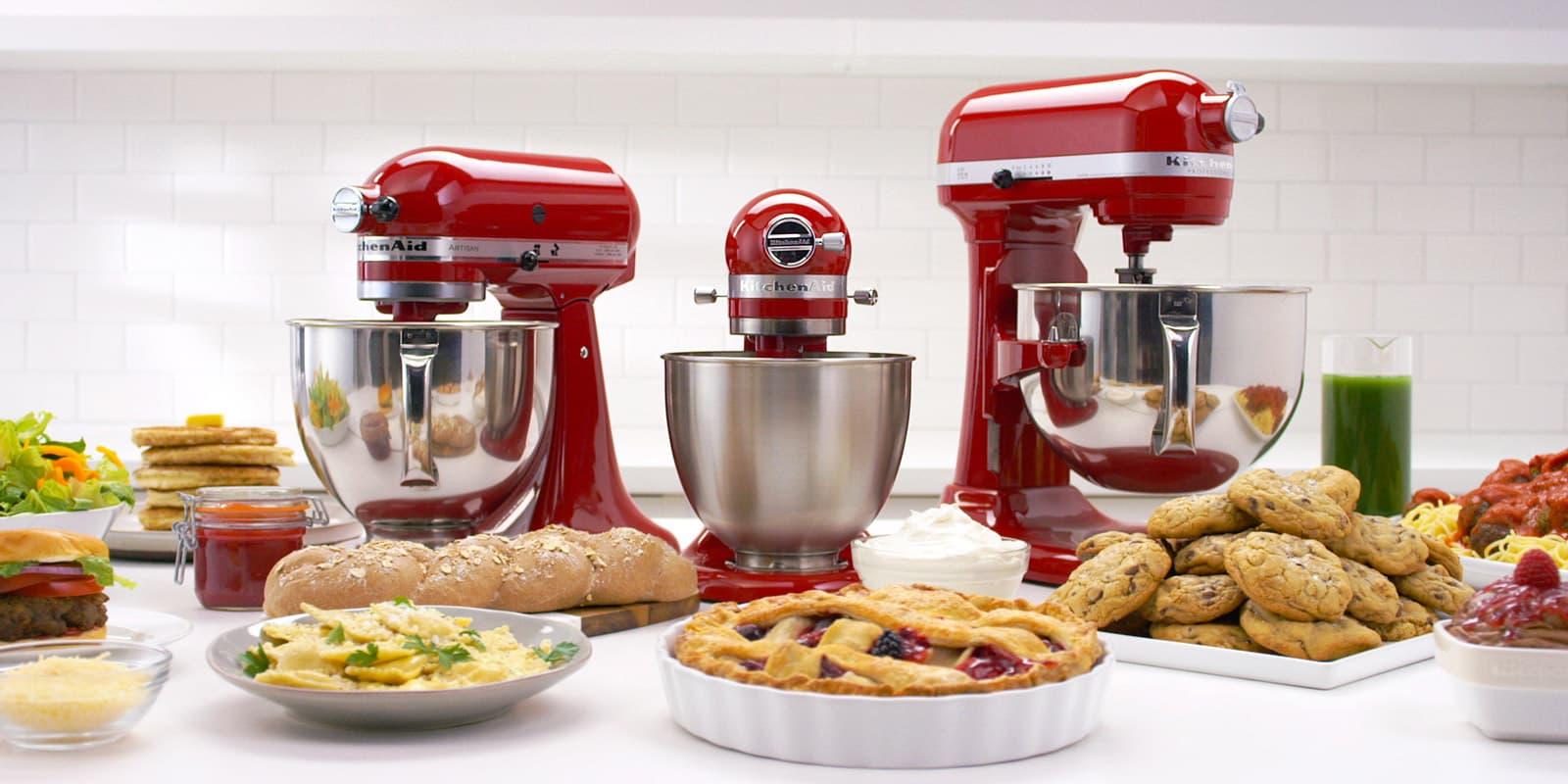 4,8 L ARTISAN Küchenmaschine 5KSM125 | Offizielle Website von KitchenAid