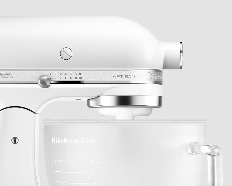 Mini Kühlschrank Pearl : 4 8 l artisan küchenmaschine frosted pearl 5ksm156 offizielle