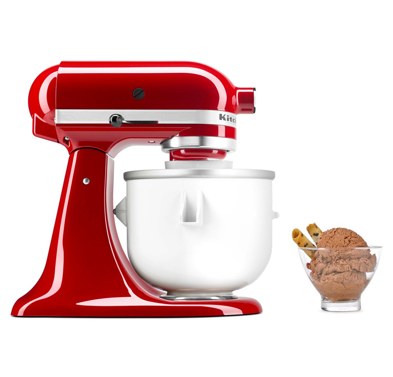 5kica0wh original zubeh r kitchenaid artisan eismaschine speiseeismaschine ebay. Black Bedroom Furniture Sets. Home Design Ideas