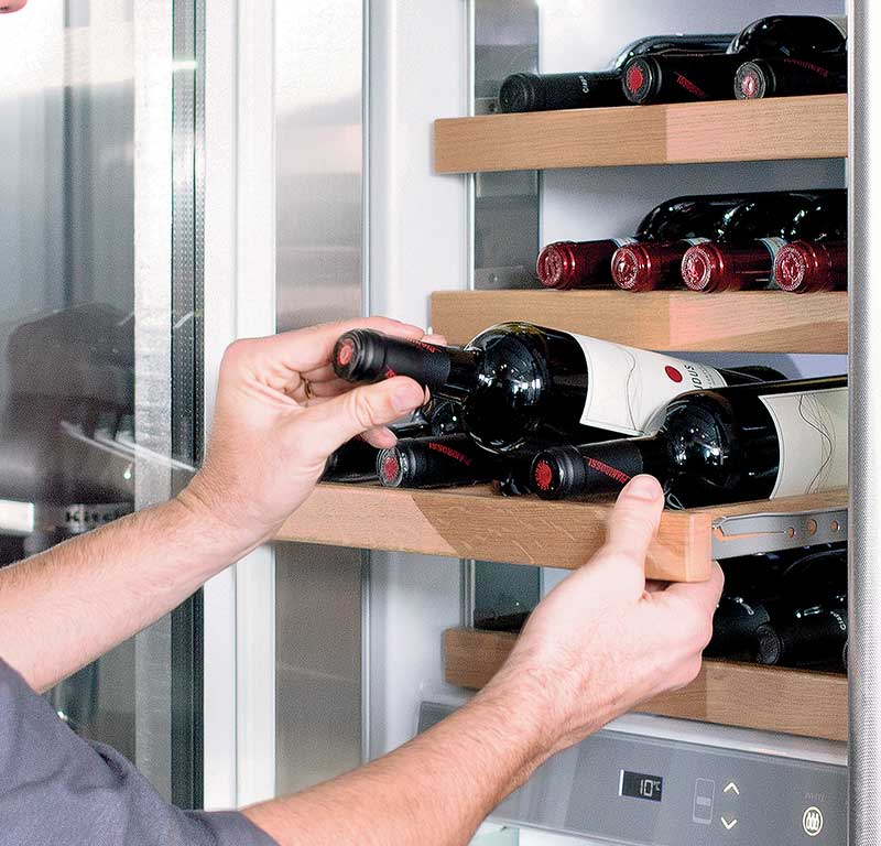 Vertigo Collection Integrierter Weinkuhlschrank 60 Cm Kczwx