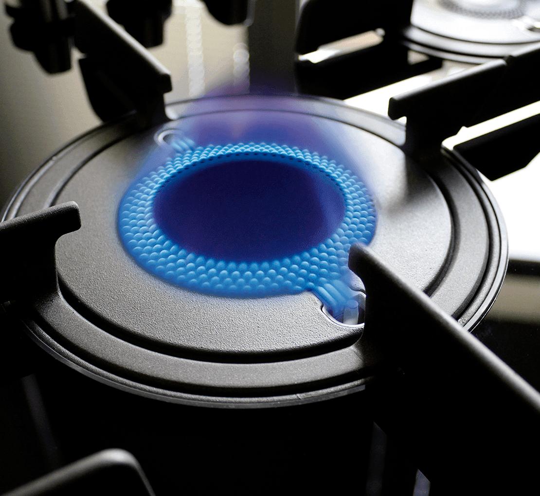 Table De Cuisson Gaz Et Electricite plaque de cuisson à gaz, électrique et à induction : noir et