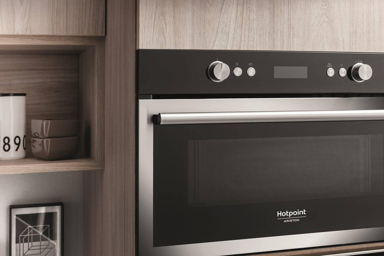 Cuisine Four Micro Onde four à micro-ondes: encastrable en acier inoxydable