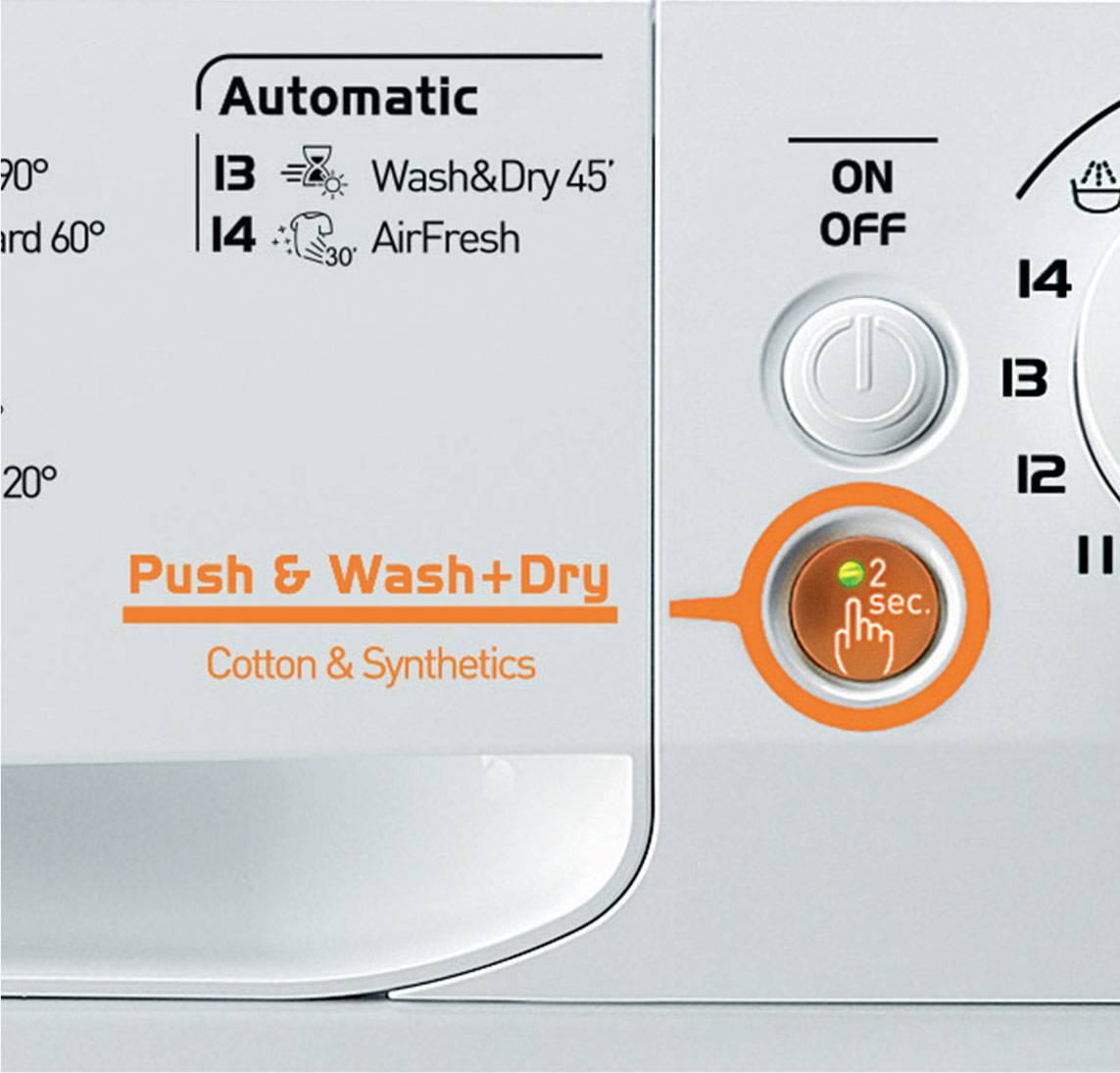 Freestanding Washer Dryer Washing Ready In 45 Minutes