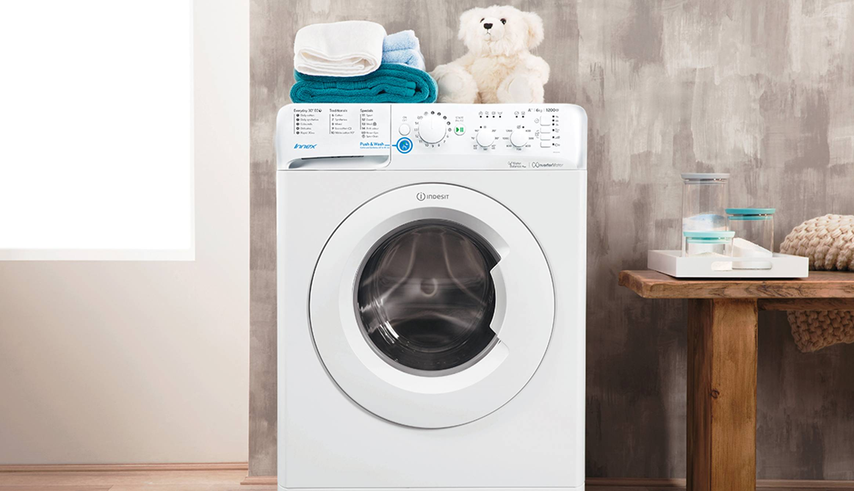 Freestanding front loading washing machine - Innex Indesit ...