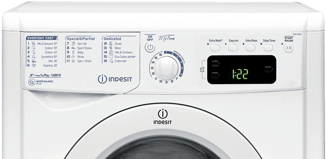 washing machine class a energy saving my time indesit indesit affordable reliable. Black Bedroom Furniture Sets. Home Design Ideas