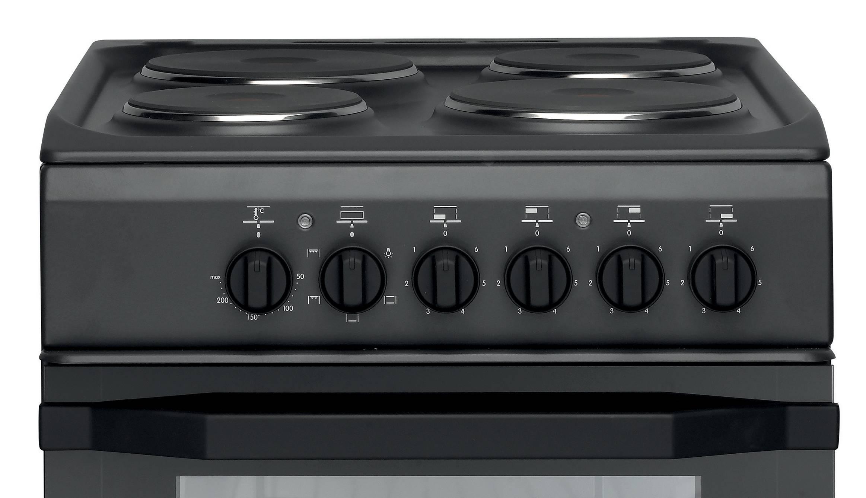 cucina a gas a libera installazione indesit: 60 cm - i6gg1f x i - Cucine A Gas Indesit
