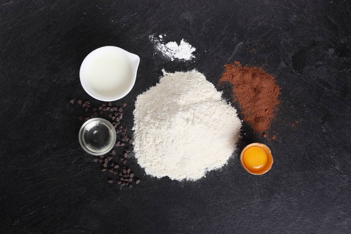 Ingredients - Mini chocolate muffins