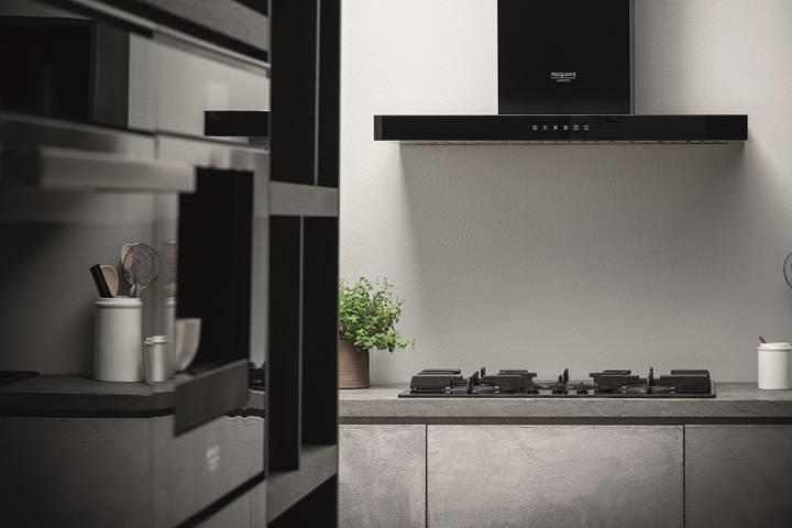 Cappe da cucina aspiranti da incasso | Hotpoint Innovazione ...