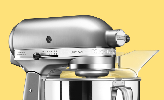 Robot da cucina ARTISAN da 4,8 L 5KSM175PS | Sito Ufficiale KitchenAid