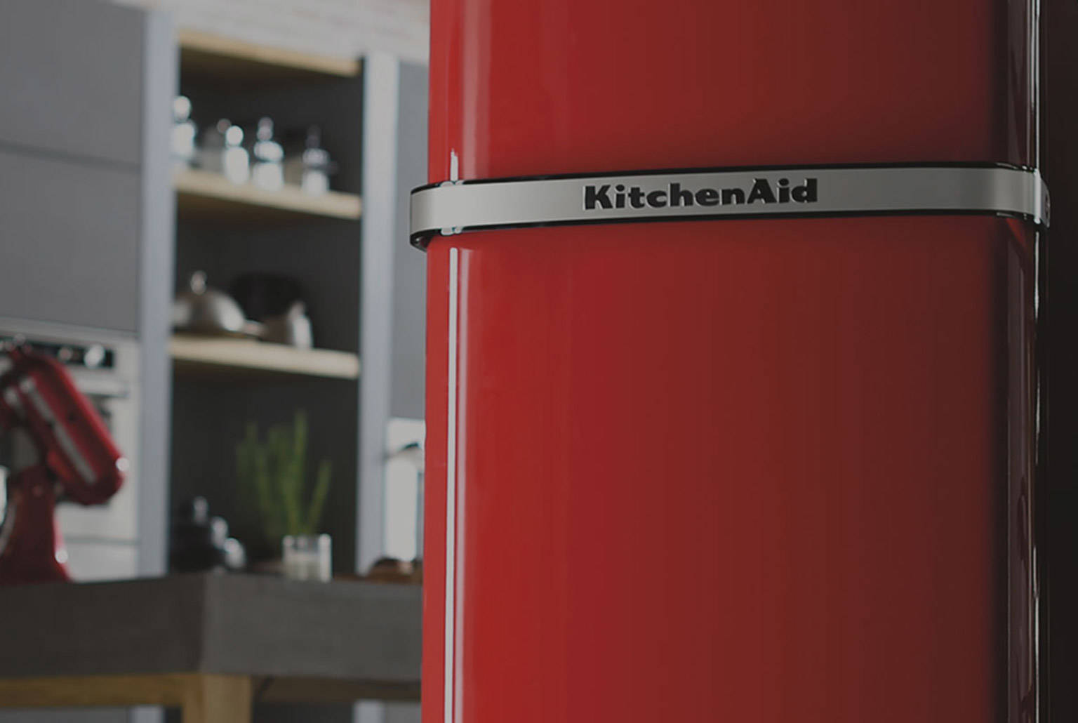 KITCHENAID PRESENTEERT DE ICONIC FRIDGE