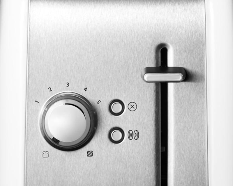 KitchenAid 5KMT2115EWH 2-Scheiben Toaster Classic
