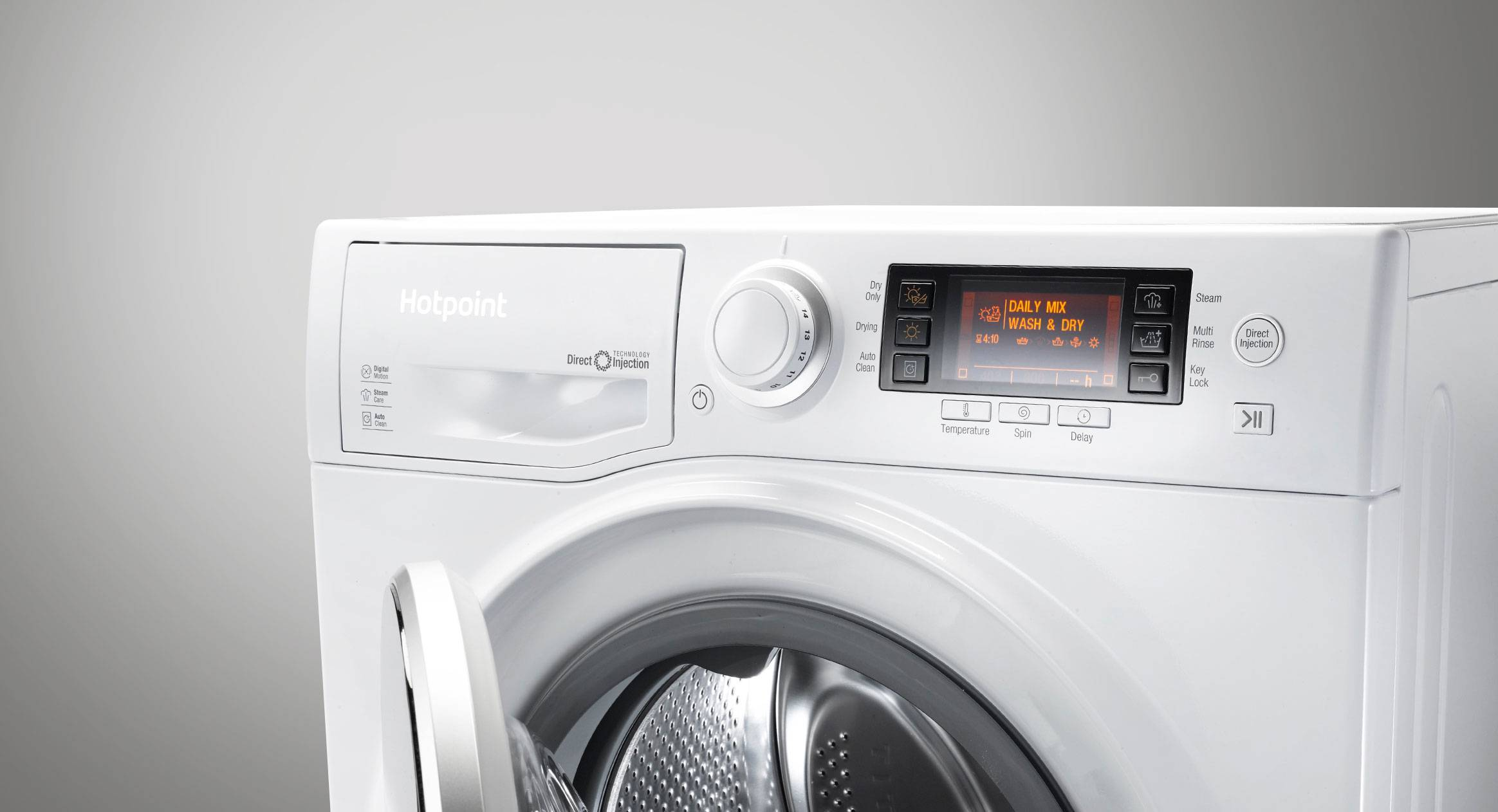 Washer Dryers Freestanding Integrated Hotpoint Uk