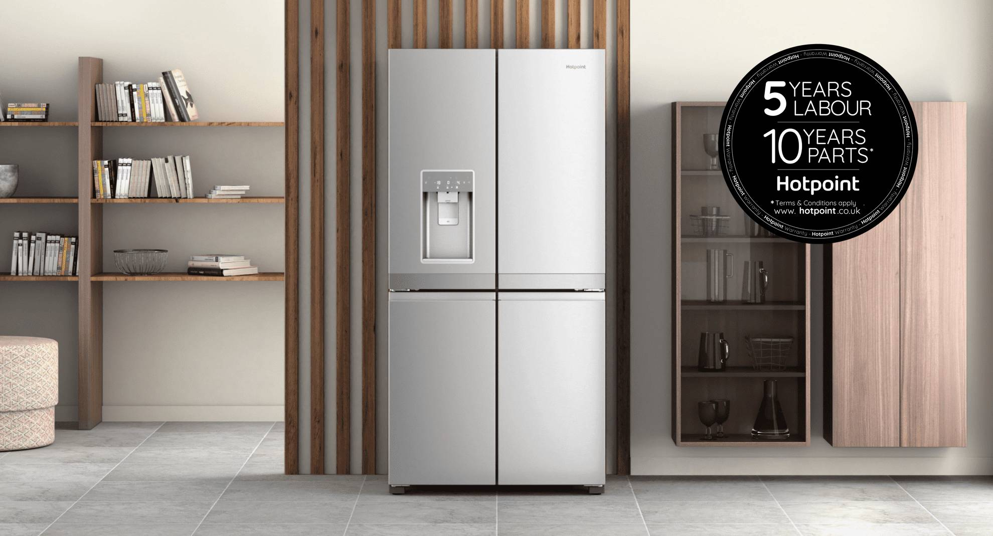 Active 4 Door Fridge-Freezer