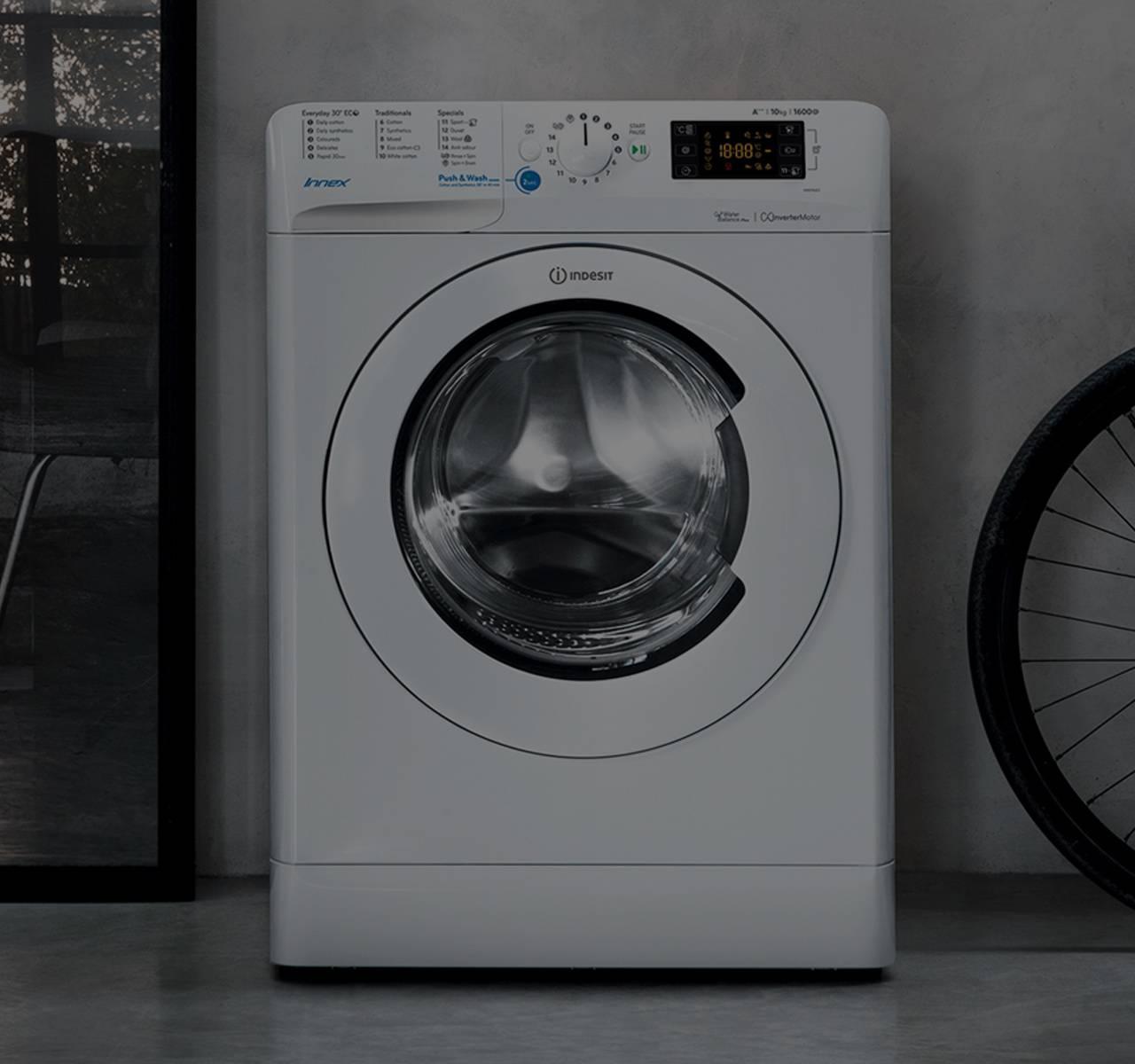 Washing machines: AAA+ freestanding & built in | Indesit UK