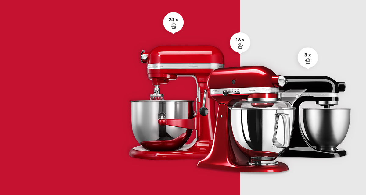 Discover which stand mixer is made for you!