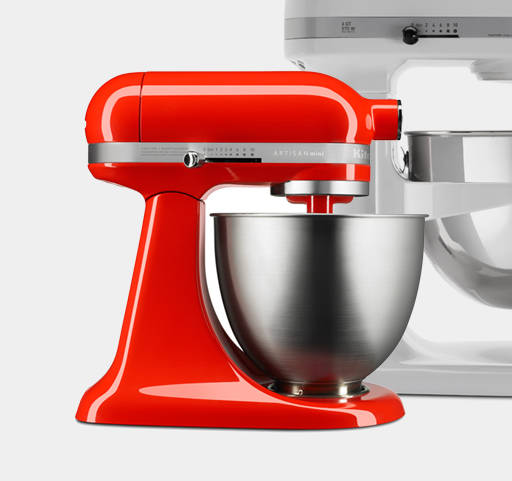 KitchenAid has been % reliable, it's simple to use and clean, and the range of attachments gives me all the core functionality I need, from whisking and whipping to mincing amd grinding.