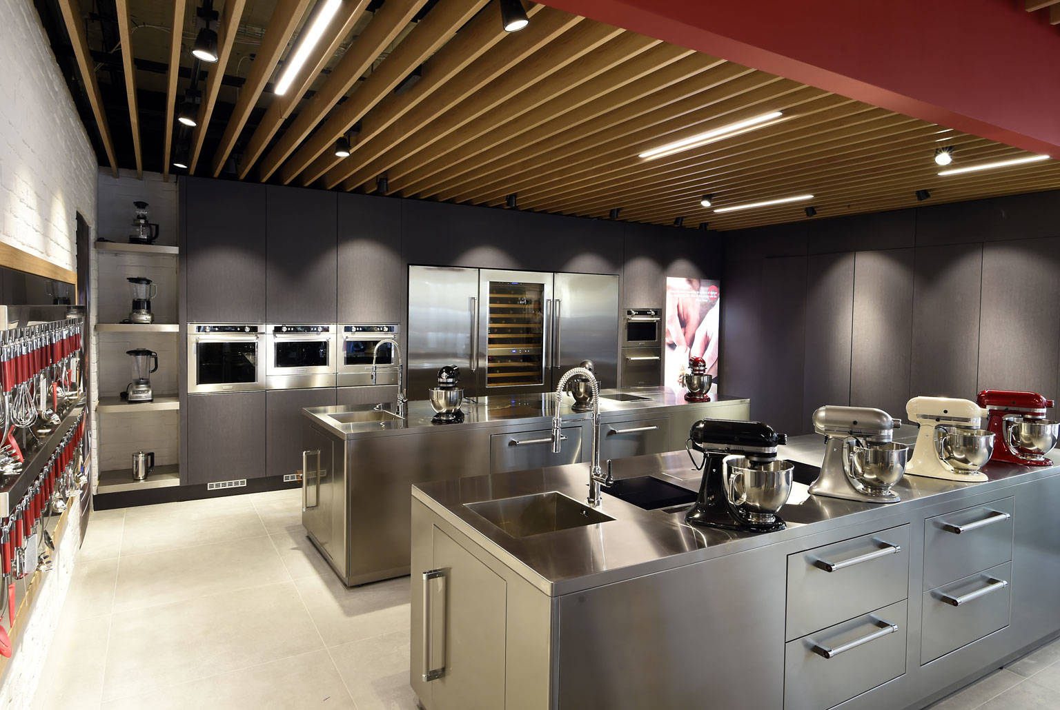 WELCOME TO THE KITCHENAID EXPERIENCE STORE AND SHOWROOM