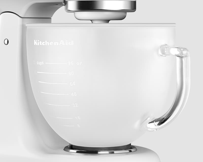 4.8 L Frosted Glass Bowl