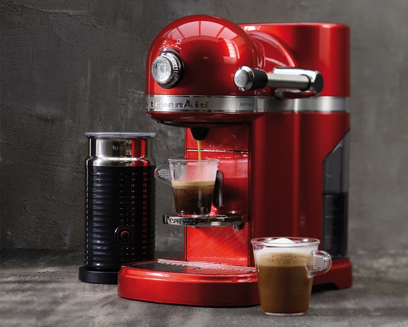 artisan nespresso and aeroccino 3 bundle 5kes0504 kitchenaid uk. Black Bedroom Furniture Sets. Home Design Ideas