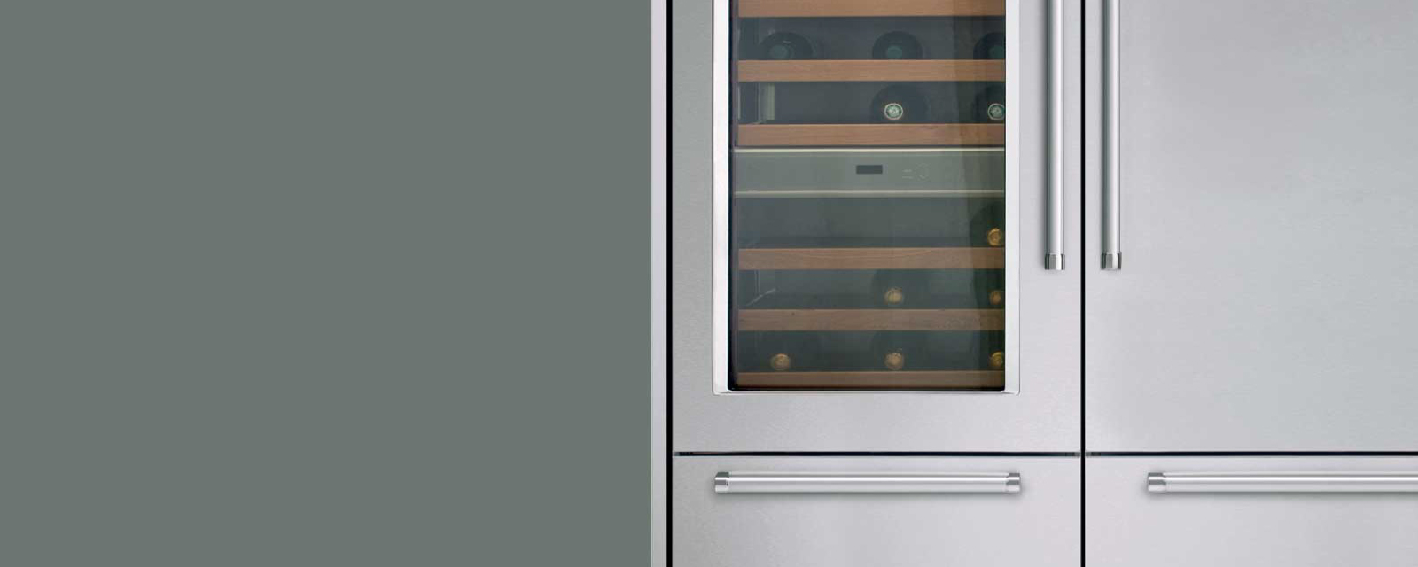 Vertigo Collection 90 Cm Integrated Wine Cellar Kczwx 20900l Kitchenaid Coffee Maker Wiring Diagram Vertigos Total No Frost System Is Completely Automatic So You Longer Need To Defrost The Freezer Compartment Also Rapidly Cools